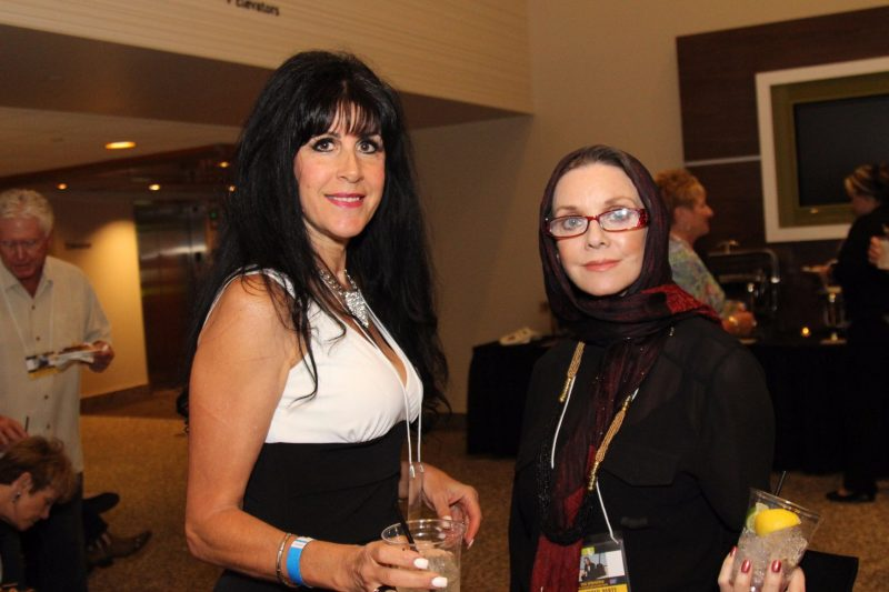 Brenda Lynn Martin and actress Judith Chapman