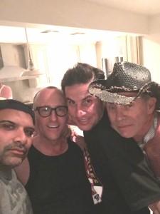 Frank Naqvi, Anthony Turk, Blake Coscia, Tristan Rogers