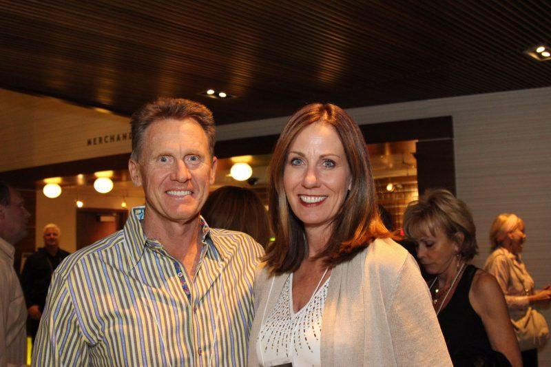 Sponsors Chris and Kristin Hermann