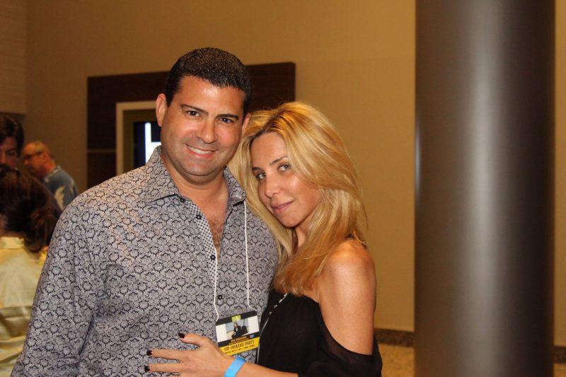 Dr. Eric Presser and wife Orli Presser