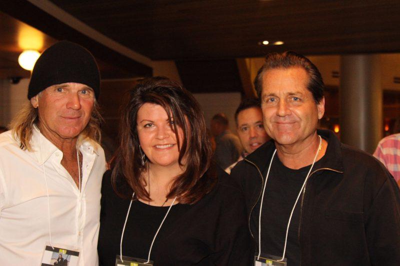 Tennis pro and actor Nels Van Patten, committee member Renae Madore, actor Jimmy Van Patten