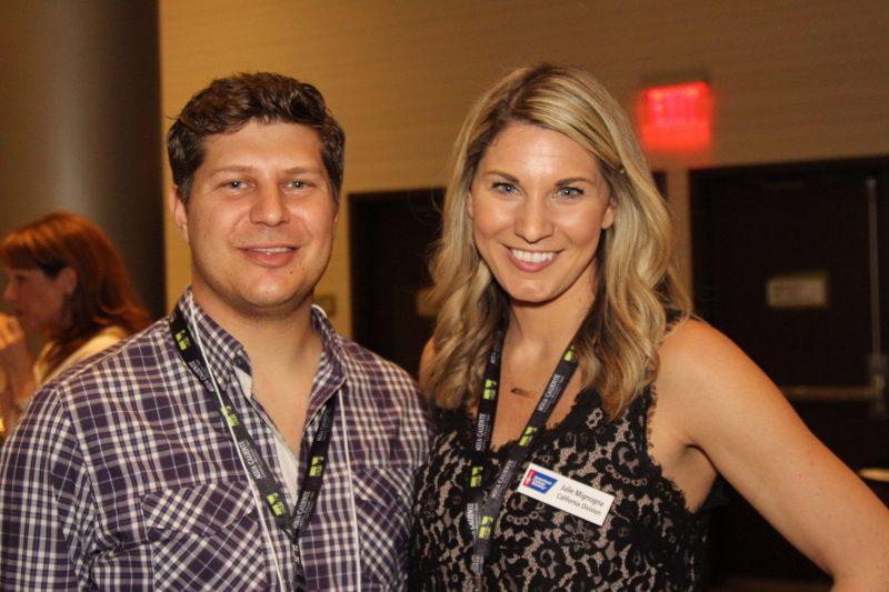 Bobby Mignogna and ACS staff member Julie Mignogna