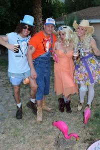 Blake Coscia , Sean and Michelle Kanan, Tanya Coscia