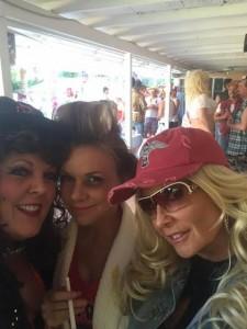 Gayle, Bobbie and Melissa